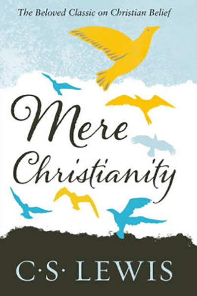 Mere Christianity written by C S Lewis